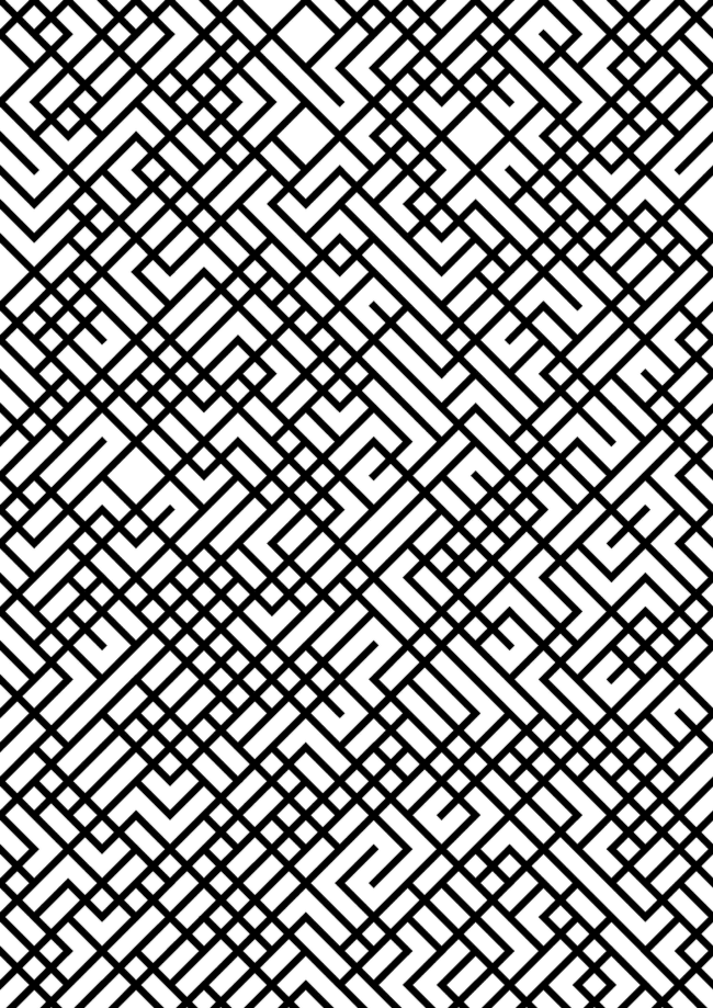 Tiled Lines 1